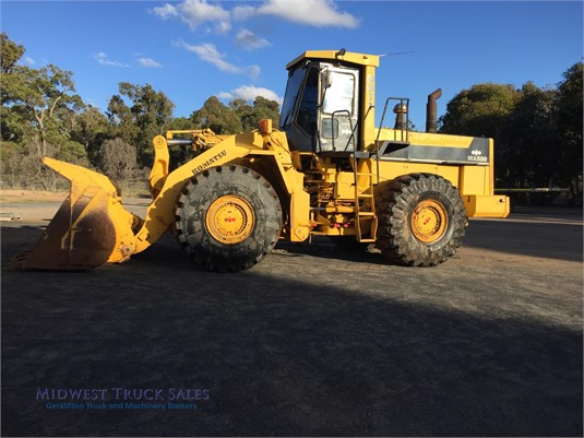 1992 Komatsu WA500-1 Midwest Truck Sales - Heavy Machinery for Sale