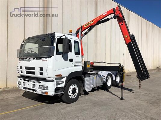 2009 Isuzu Giga CXY 455 Premium - Trucks for Sale