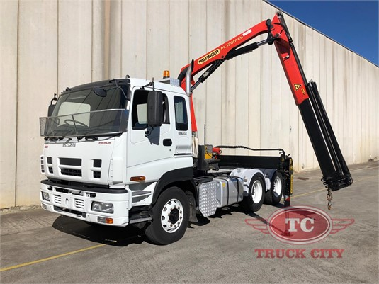 2009 Isuzu Giga CXY 455 Premium Truck City - Trucks for Sale