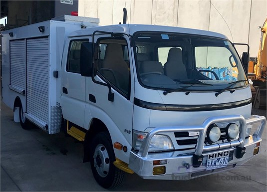 2009 Hino 300 Series 816 Crew Trucks for Sale