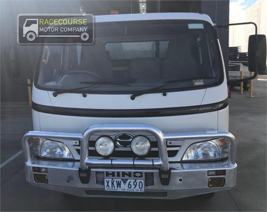 2009 Hino 300 Series 816 Crew Racecourse Motor Company - Trucks for Sale