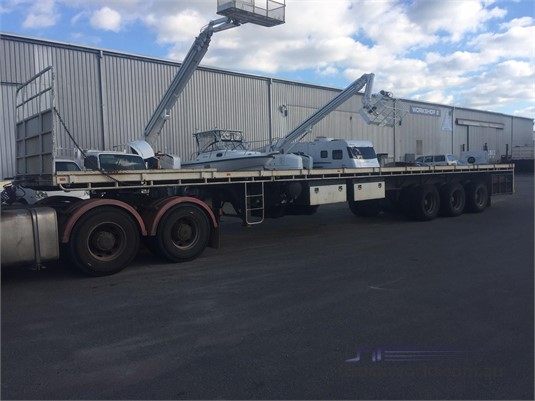 2010 Gte Flat Top Trailer - Trailers for Sale