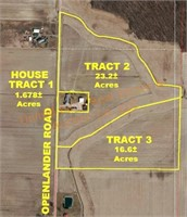 Tract 5: 12.6+/- Acres of farmland