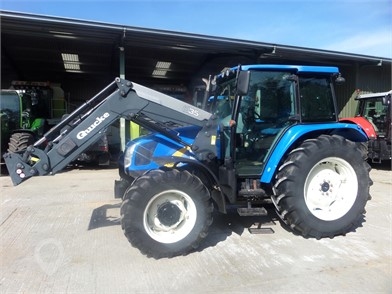 NEW HOLLAND T5060 for sale in the United Kingdom - 6