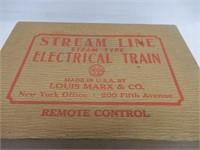 MARX MARLINES STEAM LINE ELECTRIC TRAIN/ BOX