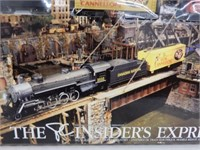 PC HO SCALE EXPRESS ELECTRIC TRAIN SET/NEW IN BOX