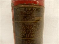 CANADIAN NATIONAL RAILWAY FIRE EXTINGUISHER
