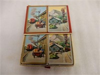 LOT OF 3 RAILWAY PLAYING CARDS