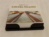 2003 LIONEL TRAINS DESK TOP CALENDAR / BOX