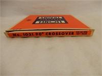 LIONEL ELECTRIC TRAINS NO.1021 027 CROSSOVER / BOX