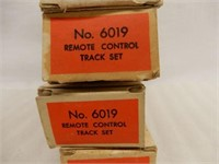 LOT 5 LIONEL NO 6019 REMOTE CONTROL TRACK SETS