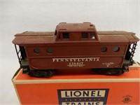 LIONEL TRAINS NO. 6417 CABOOSE/ BOX