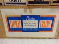 LOT 11 LIONEL CARS / ORIGINAL SHIPPING  BOX/ NOS