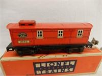 LIONEL ELECTRIC TRAINS NO.1682 CABOOSE  / BOX