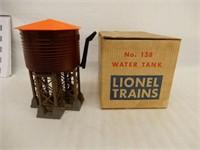 LIONEL TRAINS NO.138 WATER TANK/  BOX