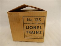 LIONEL TRAINS NO.125 WHISTLING STATION / BOX