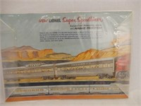 1953 LIONEL CORPORATION BOOKLET / SEALED PACKAGING