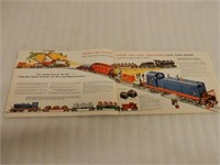 1956 LIONEL TRAINS WITH MAGNE TRACTION BROCHURE