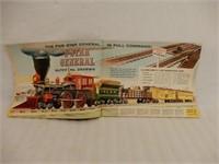 1960 LIONEL TRAINS CATALOGUE