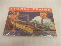 """LIONEL TRAINS """" MEN BUY FOR THEIR BOYS"""" CATALOGUE"""