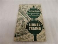 GROUPING OF1950'S LIONEL TRAINS EPHEMERA