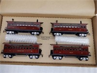 MARX CANADIAN PACIFIC OLD TIME PASSENGER CARS/ BOX