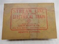 MARX STEAM LINE STEAM TYPE ELECTRIC TRAIN / BOX