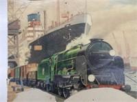 METTOY RAILWAY MECHANICAL FREIGHT TRAIN SET/ BOX