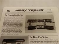 RARE MARX STEAM LINE STEAM TYPE ELECTRIC TRAIN/BOX