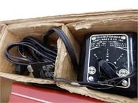 MARX DIESEL TYPE ELECTRIC TRAIN NO. 7675 / BOX