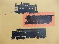 SEAR'S  ALLSTATE ELECTRIC TRAIN SCALE MODEL / BOX