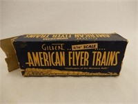 AMERICAN FLYER TRAINS  GULF OIL CARRIER  / BOX