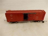 AMERICAN FLYER 633 RED FREIGHT CAR / BOX