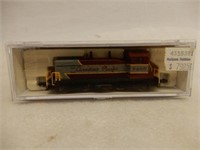 CANADIAN PACIFIC 7405 N SCALE LOCOMOTIVE / CASE
