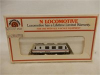 AMTRACK N SCALE 31 LOCOMOTIVE / BOX
