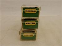 LOT OF 3 MINITRIX N SCALE MODEL TRAINS / CASES