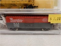 LOT OF 3 N SCALE MODEL TRAINS/ CASES