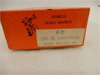 LOT 4 SCALE MODEL TRAIN BOXES ONLY/ SPARE PARTS