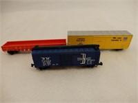 BOXED SET OF 6 N GAUGE RAILWAY SCALE MODEL CARS