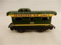 SET OF 3 MARX SEABORD RAILROAD MODEL TRAINS