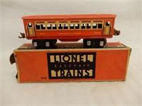 LIONEL ELECTRIC TRAINS PULLMAN CAR / BOX