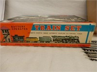 ROSKO TOY BATTERY OPERATED TRAIN SET / BOX / NOS