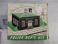 POLICE DEP'T KIT / BOX / NOS
