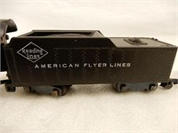 GROUPING 195O'S AMERICAN FLYER ENGINE/CARS/ TRACK