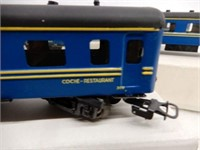 LOT OF 6 COCHE-RESTAURANT RAILWAY DINING CARS