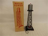 MARX RAILWAY WATER TOWER ACCESSORY/ BOX