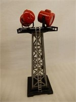 MARX RAILWAY SEARCH LIGHT TOWER / BOX