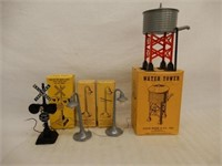 LOT OF 4 MARX RAILWAY ACCESSORIES / BOXES