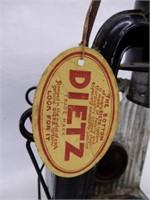 DIETZ LANTERN / STORE LABEL