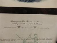 1987 INTERNATIONAL PLATE PRINTERS CONVENTION PRINT
